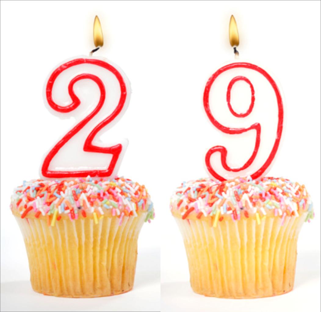 Красивые поздравления 29 лет 72